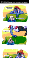 Undertale ask blog: TV by neonUFO