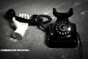 Communication Breakdown-series by Panchoza