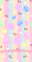 Macaroon and Cookie Custom Box (Free to use!) by MadameSpookums