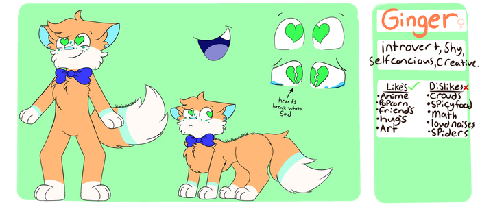 Ginger Ref 2018 {new sona} by skyfeather0066
