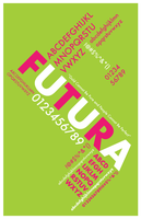 Typography Exercise 1: Futura by dadomz