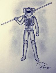 The Cyberman With a Soul by NightRiver16