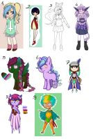 Big adopt batch 1 auction and set price - OPEN by Universeseed
