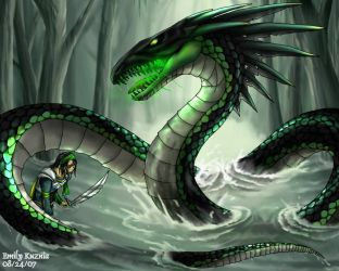 Toxic Serpent by Emchromatic