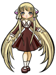 Chobits chii cutee by ma-petite-poupee