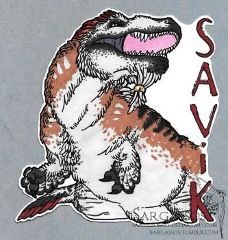 Savik Badge by SargassosArt