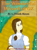 The Wonderful Wizard of OZ Book Cover by TsunamiJurai