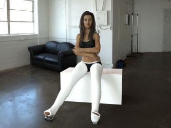 Long Leg Casts for Genesis 3 Female by rizzo-cast