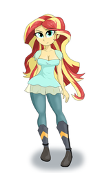 Sunset Shimmer by iYoungSavage