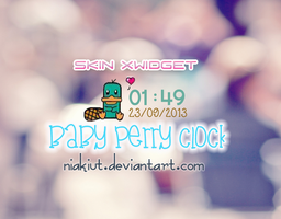Baby perry clock. by Niakiut