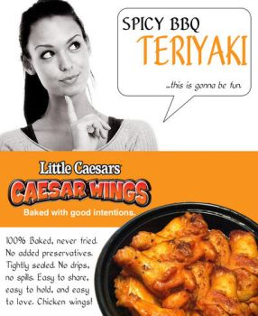 Caesar Wings Flyer1 by Whatsome