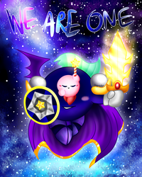 'We are One' With Background by Jess-Poyo
