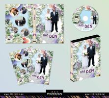wedding - dvd cover + label by R1Design