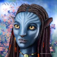 Na'vi AVATAR by vampirekingdom