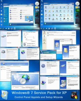 Windows 7 Service Pack for XP by DopeySneezy
