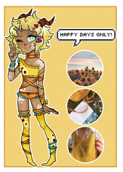 [Adopt]: Sunny Daze, Sunny Days by SimplyDefault