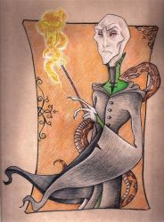 Voldemort Revamped by FizzingWhizbees