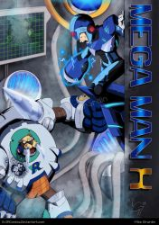 Mega Man X for Draw Mega Man day! by Gx3RComics