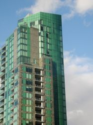 Vancouver's Emerald Highrise by DionisisZogaris