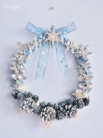 Snow Queen Christmas wreath by BaziKotek