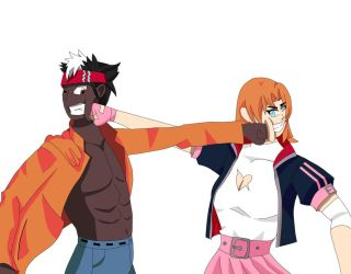Aedus vs Nora by dragonboy1092