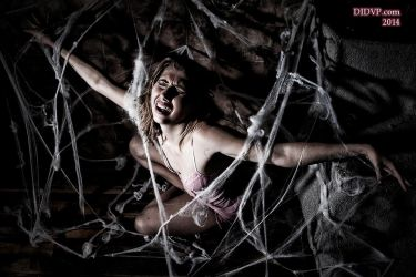 Sateen Dubois Caught in the Spider's Web 9816 by MichaelLeachPhoto