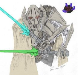 General Grievous by rayven01uk