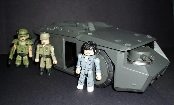 Minimates - Aliens by CyberDrone2-0