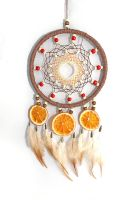 The orange dreamcatcher by Ailinn-Lein