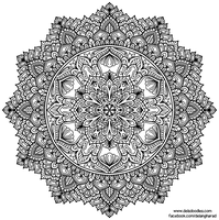 Krita Mandala 59 by WelshPixie