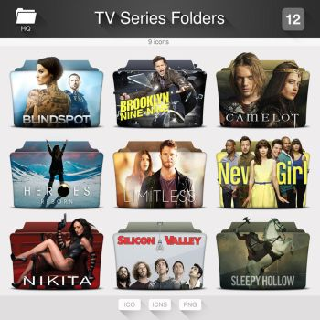 TV Series Folders - PACK 12 by limav