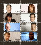 NCIS Stamp Sheet I by poserfan
