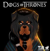 Dog of Thrones - Khal Drogo by MZ09