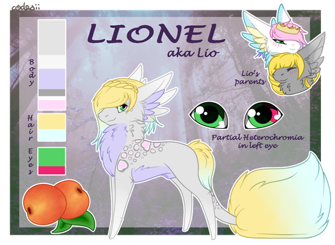 [P | Fruit Bloom] Lionel by codesii