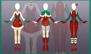 [Close] Adoptable Outfit Auction 8-10 by Kolmoys