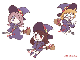 3 Little witches by Kell0x