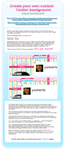 Create your own Twitter BGs by gaile