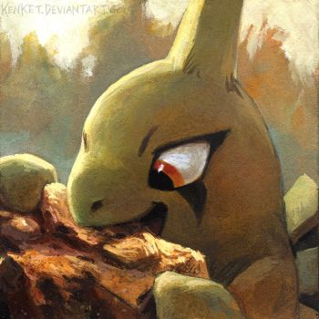Larvitar by kenket