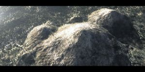 Patreon - Intro to Houdini Terrains - Redshift Ren by TheArtofSaul