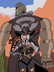 Ashe and Bob by CountBedlam