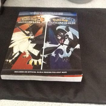 a photo of Pokemon ultra sun and moon guide by Brachio-white-ranger
