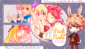 Pack de Renders Nalu by AmayraniCB