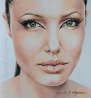 Angelina, sketch by LightCircleArt