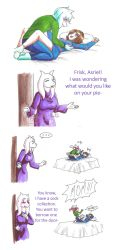 UT: Knock First by hopelessromantic721