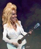 Dolly Parton by wooden-horse