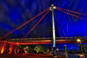 The Bridge over the Main River by Aerostylaz