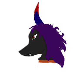Demon Wolf Pet Thing by NezcalSpindrake