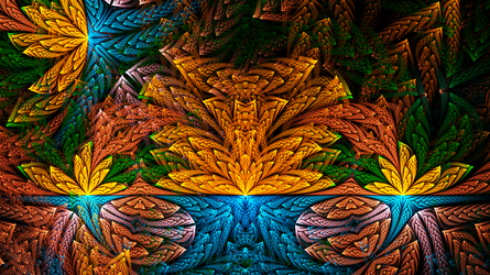 Tropical abstract by BGai