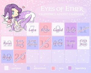 Eyes of Ether Valentine's Advent [5/14 Open] by Hecateadopt