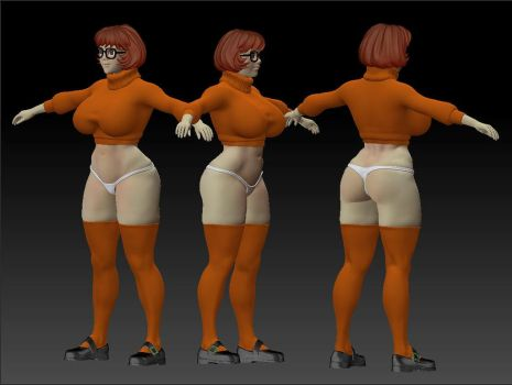 Velma 3d model by bokuman